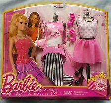 Barbie Dream House Day Fashion Pack Teresa Outfit Skirt Pants Purse Cat Necklace