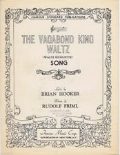 The Vagabond King Waltz, 1926, vintage sheet music
