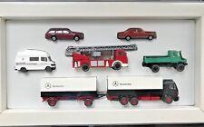 Wiking Set con Mercedes Camión Unimog Coche de Bomberos Caravan Camión Nuevo