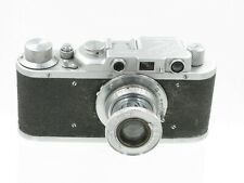 Fed 1f1 35mm rangefinder camera with 50mm f/3.5 lens. Leica copy