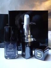 CHANEL INFRAMETAL DUO V Rare nail varnish & Lipstick Box Set NEW +Nr Mint Sleeve