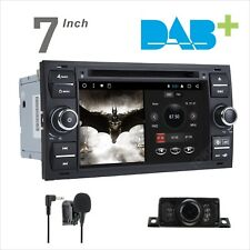 Double DIN Android Car DAB+ Radio DVD Stereo GPS SatNav BT FORD Mondeo 2003-2007