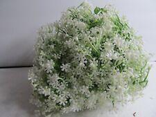 Artificial Plastic Gypsophila (Baby Breath) Floral Arrangement 20 Pieces