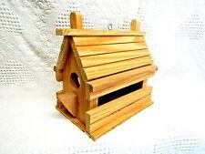 Wooden Birdfeeder (No Finish)
