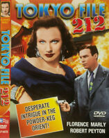 Tokyo File 212 DVD 1951 Florence Marly RARE Movie Lee Frederick BLACK & WHITE