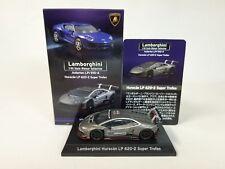 Blancpain Lamborghini Huracan LP 620 - 2 Super TROFEO #63 Gray Color