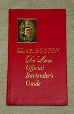 Mr. Boston de Luxe Official Bartender's Guide by Leo Cotton (1961, Hardback)