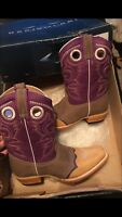 Womens Cowgirl Boots Purple