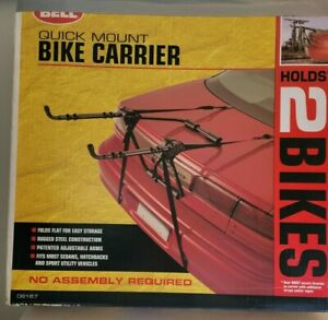 Bell  Quick Mount Bike Carrier Holds 2 bikes No Assembly Required Used Once