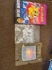Slider (Sega Game Gear) Complete in Box