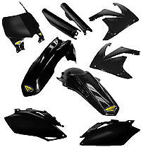 Cycra Powerflow Plastics Kit Black for Honda CRF450R 2008 9303-12 12-3439