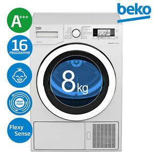Beko DE8535RX0  A+++ Trockner Wäschetrockner Wärmepumpentrockner 8kg