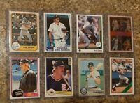 (8) Kirk Gibson 1981Topps Donruss Rookie 1982 1983 Fleer Card Lot RC Dodgers