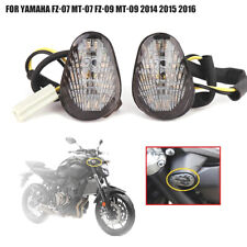 LED Turn Signal Lights Blinker For Yamaha FZ-07 MT-07 FZ-09 MT-09 2014 2015 2016