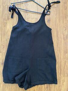 Supre 8 Black Jumpsuit