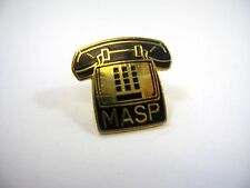 Vintage Collectible Pin: MASP Telephone Design (by Jostens)