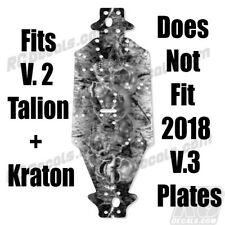 Arrma Talion & Kraton Chassis Protector Skully AR320197