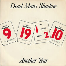 """DEAD MAN'S SHADOW 7"""" ANOTHER YEAR / ONE MAN'S CRUSADE CRIMINAL DAMAGE UK PUNK 83"""