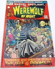 Marvel Spotlight #4 Werewolf By Night 1972 Bronze Age Marvel Comics VG/VG+