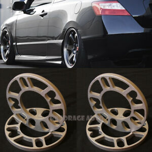 JDM Universal Wheel Rim Extended Spacers Shim for 4 5 Stud 4x100 5x114.3 10MM X4