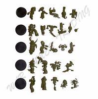 40K 5x Plague Marines - Death Guard Chaos Space Marine Nurgle Daemons Warhammer