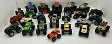 Lot of 24 Loose Small Diecast Monster Trucks - Some Monster Jam and Other Brands