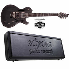 Schecter Chris Poland Solo 6 Poltergeist See-Thru Black STBLK NEW + HARD CASE!