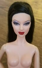 Nude Barbie Basics Collection 001 Model Muse Asian Lea 05 Doll Black Hair