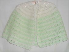 Mesdames hand crocheted lit Cape
