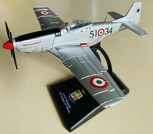 MUSTANG F-51K FIGHTER 1/100 Scale Diecast Model Aircraft 155 GRUPPO STORMO BNIB