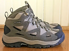 Women's Size 6.5 Columbia Coremic Ridge Gray Boots Walking Hiking Boots BL3620