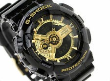 Imported Casio G-Shock, GA110GB Full BLACK Golden Dial Sports Watch For Men