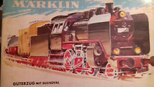 TRAIN MÄRKLIN coffret locomotive / tender,  3 wagons et rails HO
