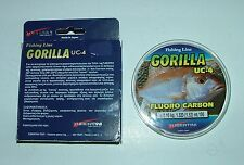 GORILLA UC-4 FLUOROCARBON Tubertini #0,10 mm - 1,520 kg  - 100 mt fluoro carbon