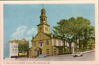 HALIFAX, Nova Scotia  Canada   ST. PAUL'S ANGLICAN CHURCH  Vintage  Postcard