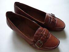 Caprice Damen Schuhe Gr.37,5 (4,5) Echtleder braun w. NEU!