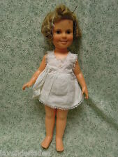 """nm-595   IDEAL: Shirley Temple;  1972;  hard plastic; 16"""" tall"""