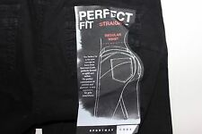 "SPORTMAX CODE  PERFECT FIT Straight Black JEANS Pans Size US-6  Inseam 34"" Italy"