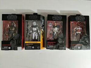 Star wars black series 6 inch lot