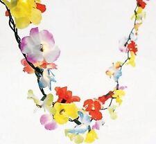 9ft LIGHT UP Luau Tropical Hibiscus Flower Garland Beach WEDDING Decoration