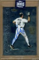 2020 Topps Archives Retired Player Edition Wade Boggs Auto 1/1 2000 Topps Finest