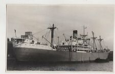 SS Zealandic Plain Back Photo Card Shipping 102a