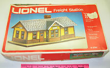 Lionel New old stock in box 6-2787 Freight Station building kit