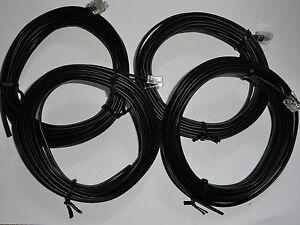 4m Spiralkabel Verlängerung für Carrera Digital Handregler 30340  zum stecken!!!
