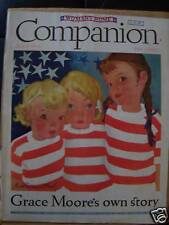 1936 Woman's Home Companion Cover Only Lucile Patterson Marsh Illustration