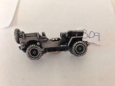 Willys Jeep ref309 3D AUTO Peltro Effetto MAGNETE per frigorifero, armadio di riempimento