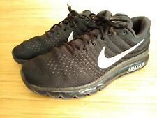 new concept dc456 f5176 Nike Air Max 2017 849559 Black With Silver Gray Men s 13