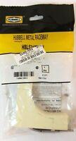 Hubbell Raceway LR Ivory Steel HBL5717BRI