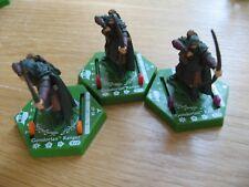 """LOTR TMG Combat Hex BS 067, 068 & 069 """"RARE"""" Gondorian Ranger (3 figures)"""