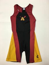 WOW New! ASU Arizona State SunDevil Rowing Team Suit Singlet Uniform XS Spandex